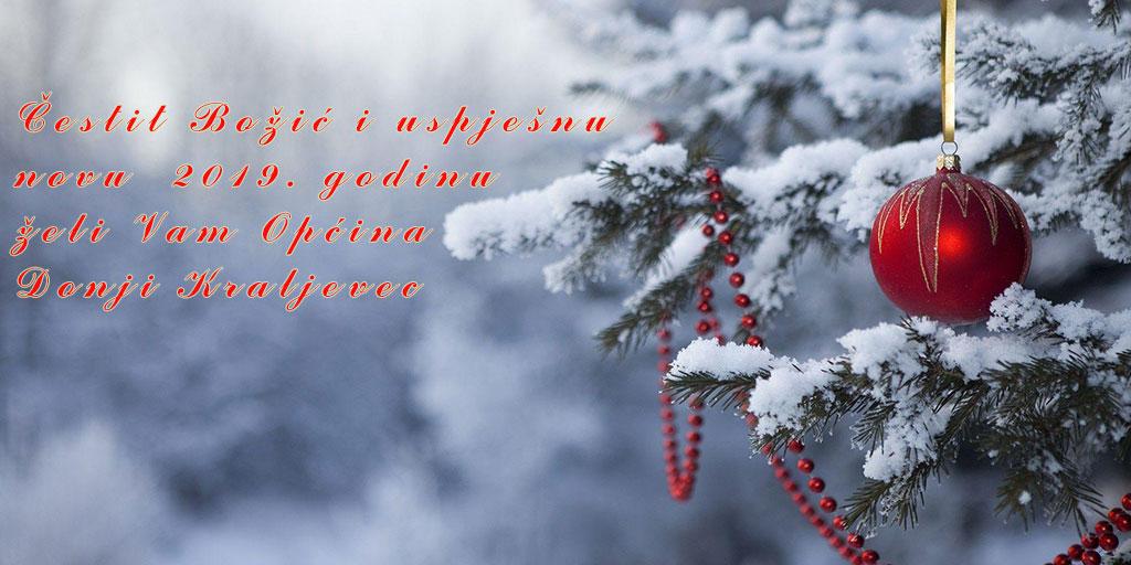 Čestit Božić i uspješnu novu godinu!