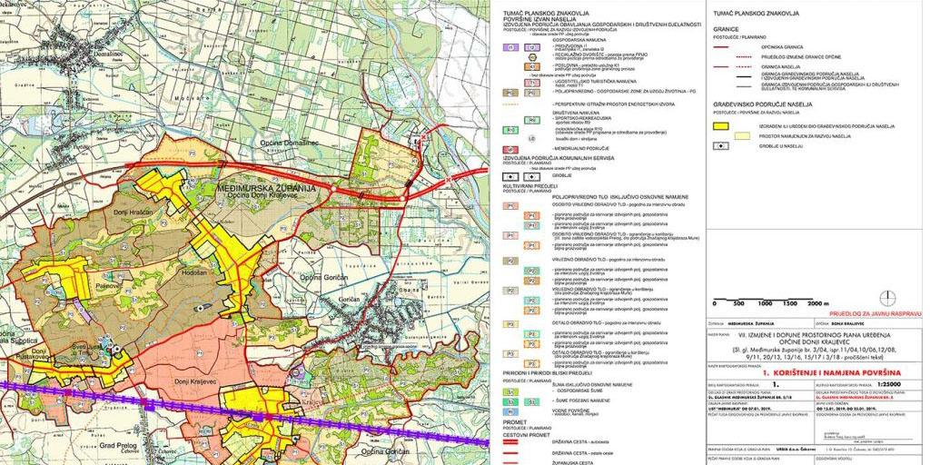 Javna rasprava – VII. izmjena i dopuna Prostornog plana uređenja Općine Donji Kraljevec –  ciljane izmjene i dopune