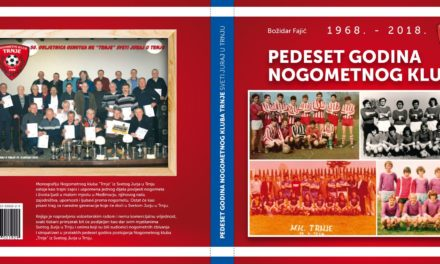 """PROMOCIJA I PODJELA KNJIGE MONOGRAFIJE """"50 GODINA NK TRNJA"""", 29.11.2019. DRUŠTVENI DOM, SVETI JURAJ U TRNJU"""