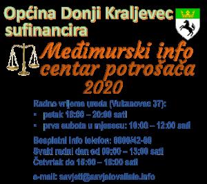 Općina Donji Kraljevec sufinancira Međimurski info centar potrošača 2020