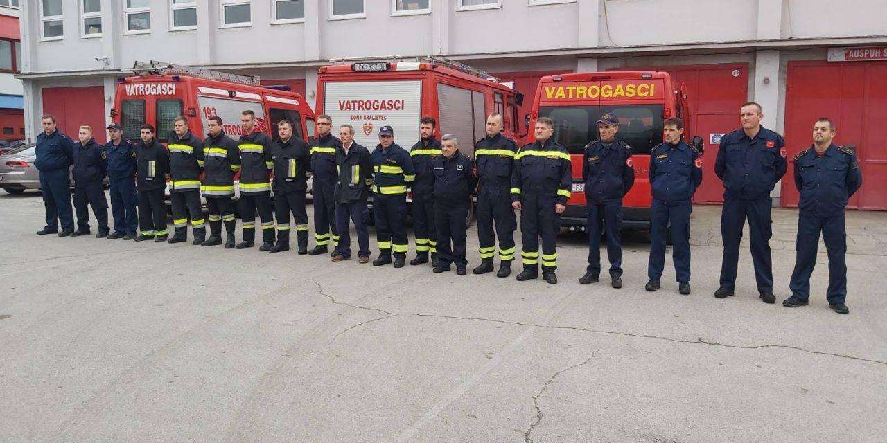 Vatrogasna zajendica općina Donji Kraljevec – Goričan: Vatrogasci s navalnim vozilom  na Baniji