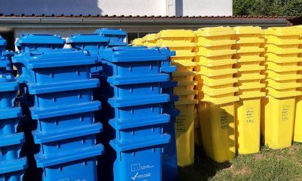 Podjela žutih i plavih spremnika za sakupljanje korisnog otpada