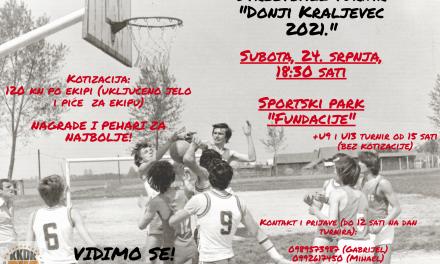 "9. noćni streetball turnir ""Donji Kraljevec 2021."""
